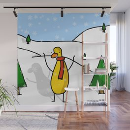 Snowy Scene | Veronica Nagorny  Wall Mural