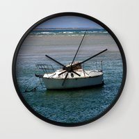 rustic Wall Clocks featuring Rustic by Chris' Landscape Images & Designs