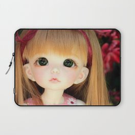 Mimi and the Butterfly Laptop Sleeve