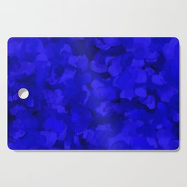 Rich Cobalt Blue Abstract Cutting Board