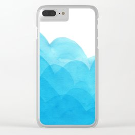 Always blue Clear iPhone Case