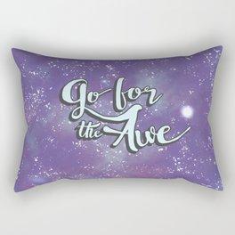 Go for the Awe Rectangular Pillow