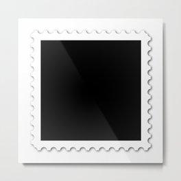 Stamp Metal Print