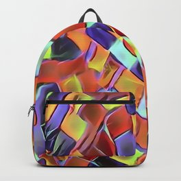 Colorful European Sidewalk Backpack