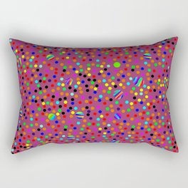 Colorful Rain 13 Rectangular Pillow