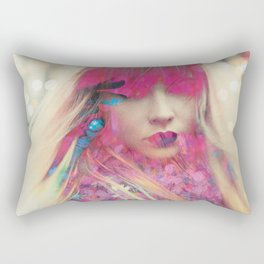 Hey, Blondie Rectangular Pillow