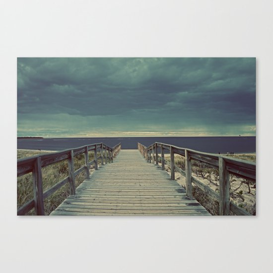 Nautica: Pathway to Horizon Canvas Print