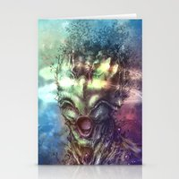 saturn Stationery Cards featuring Saturn by Vincent Vernacatola