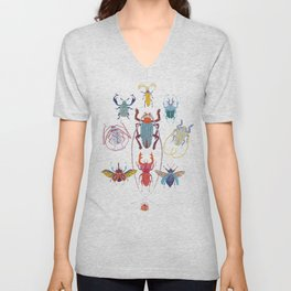 Stitches: Bugs Unisex V-Neck