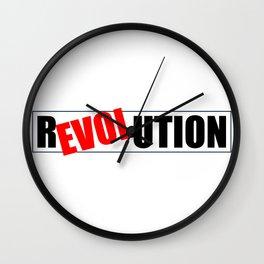 R(elov)ultion Wall Clock