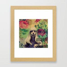 Greetings from Nowhere Framed Art Print