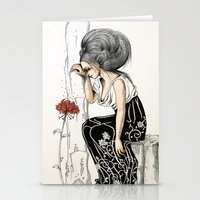 romantic Stationery Cards featuring Romantic by ValD