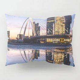 Rotterdam Erasmusbridge Reflection Pillow Sham