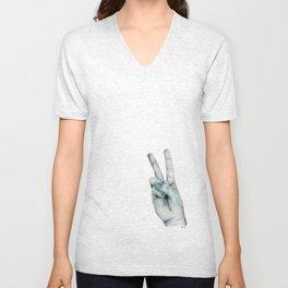 Hand No.4 Unisex V-Neck