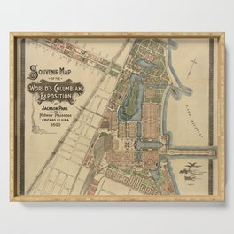 Chicago World Exposition 1893 Serving Tray
