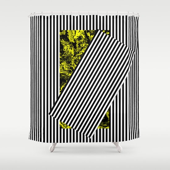 Come Out of the Shadow Shower Curtain