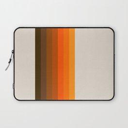 Retro Golden Rainbow - Straight Laptop Sleeve