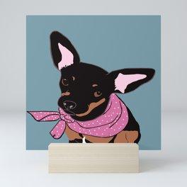 Sweet Chihuahua Mini Art Print
