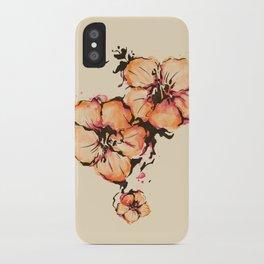 gumamela iPhone Case