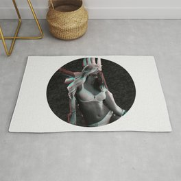 Build a Woman - Cut and Glue · Aphrodite · Night · Crop Circle Rug