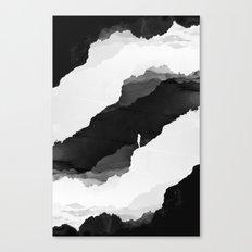 Black Isolation Canvas Print