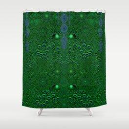 Dragon abstracte skin pattern Shower Curtain