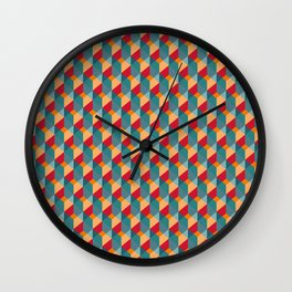 Optical Steps Bold Wall Clock