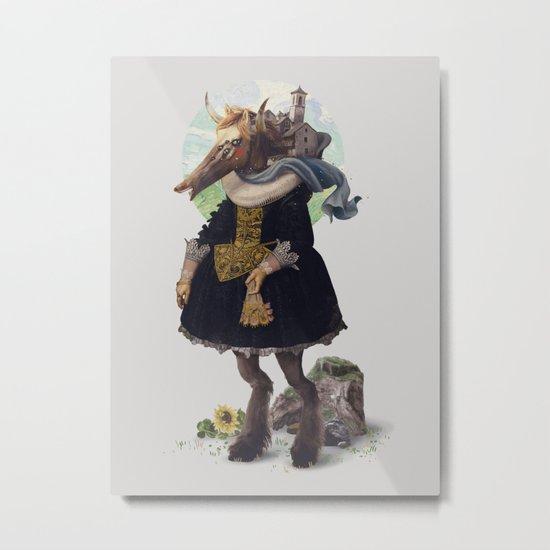 Country-girl, City-life Metal Print