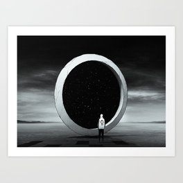 目的   Purpose Art Print