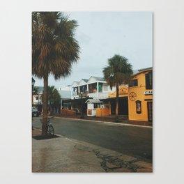 Greene Street, Key West Canvas Print