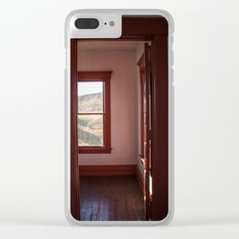 Hurd Round House, Wells County, North Dakota 33 Clear iPhone Case