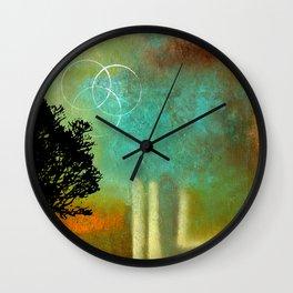 Abstract Modern Art Eternity Wall Clock