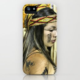 Natural beauty (no retouch) iPhone Case