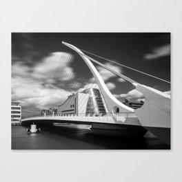Samuel Beckett Bridge - Ireland  (RR59) Canvas Print