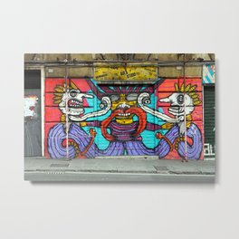 All About Italy. Piece 1 - Genoa Street Art Metal Print