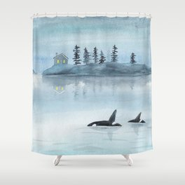 Nature is my home Shower Curtain