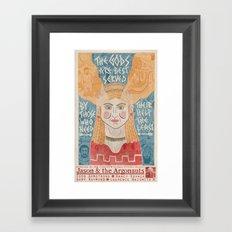 Jason & the Argonauts Framed Art Print