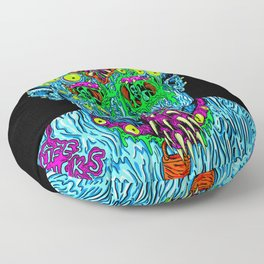 Punk Monster Floor Pillow