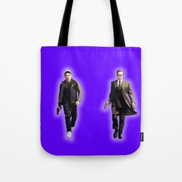 Eggsy and Harry Tote Bag