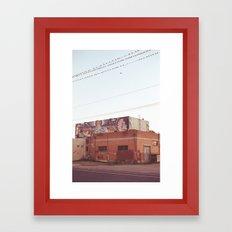 Down on H Street Framed Art Print