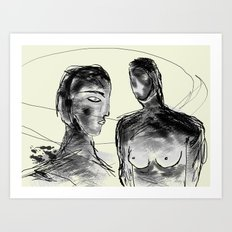 Head-space Art Print