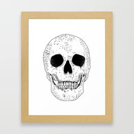 Super Skull Framed Art Print