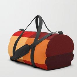 BLOCKS - RED TONES - 2 Duffle Bag
