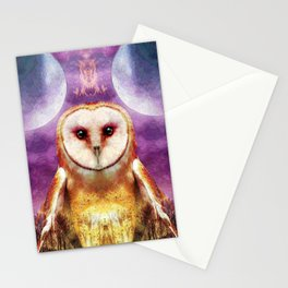 She shines all over the world Stationery Cards