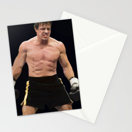 Rocky Balboa Stationery Cards