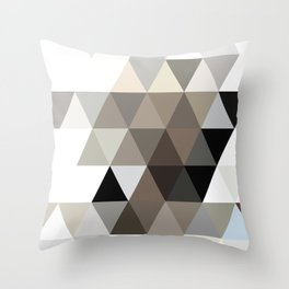DARK IN THE CENTRE Throw Pillow
