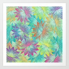 Flower Sea Art Print