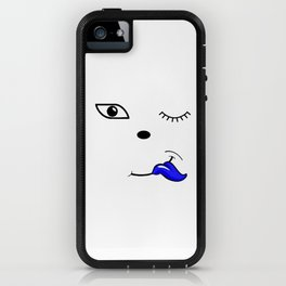 The Blue Tongue iPhone Case