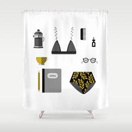 Essentials II Shower Curtain