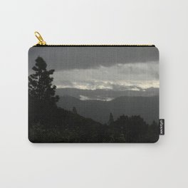 Another stormy day on the mountain... Carry-All Pouch